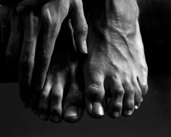 Male Dancer Feet by Krakhan