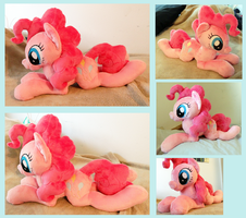 Pinkie Pie Plushie [looking for a home] by AppleDew