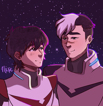 Shiro x Keith - Voltron by nise-here