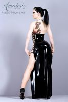 Latex-Dress by AmatorisLatexCouture