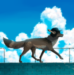 YCH / follow the clouds by Aarenki