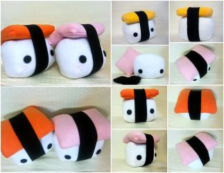 Nigiri Sushi Pillows by Jonisey