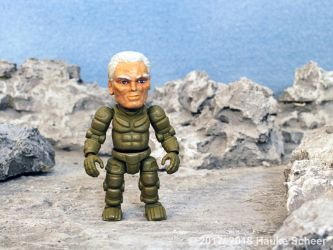 3D printed exosuit pilot action figure larger F by hauke3000