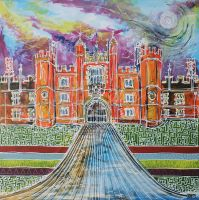 Hampton Court by LauraHolArt