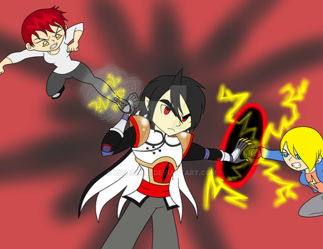 Alex and Keilani vs Qiang by XSreiki772