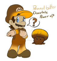 PB Chocolate Power up by MariobrosYaoiFan12