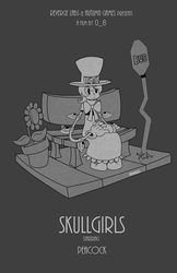 Skullgirls Movie Poster by Shoji-Ikari