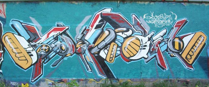 Wall 2005 by Poorone
