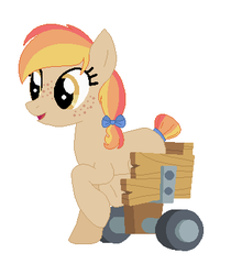 Wheelchair Pone - OPEN! by PastelPonyParade