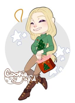 Ugly Sweater: Chibi Com. by cookiejoyful