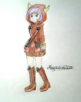 Team Magma Admin Courtney by MagicGirl2000