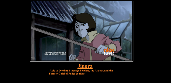 Jinora Motivational Poster by CharmyGirl5