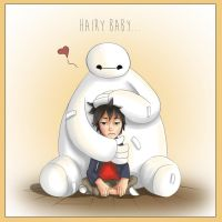 Hairy Baby by rochellejoy