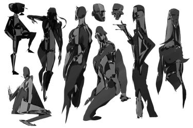 abstract anatomy by Grizzlyfrog