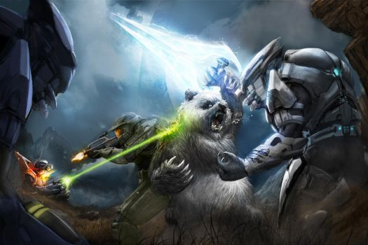 Halo teamup by DanielClasquin