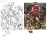 OneNation pencils to color by 133art