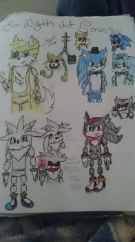 Five nights at sonics by ratchetthecutest