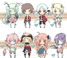 100 ADOPTS AUCTION PT 10 {O P E N} POINTS/CASH by chuguri