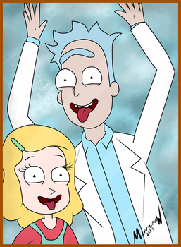 Rick and Beth by Marmimow