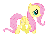 Fluttershy vector by Duduam