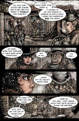 Crow Jane: Enter the Hawk no.1 pg21 by RevolverComics