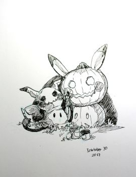 Inktober 2017 - 30 by Pawlove-Arts