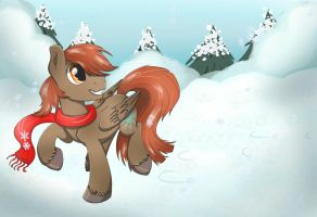 Commission - Winter Time by Bratzoid