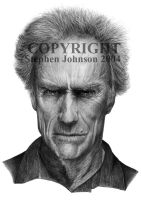 Clint Eastwood by stevej061069