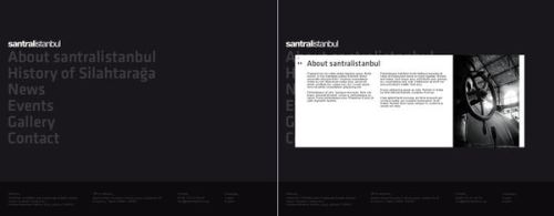 santralistanbul teaser site by m-i-s-a