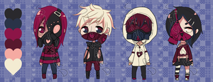 Love is contagious palette batch 60pts (CLOSED) by ShywardAdopts