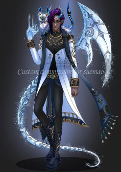 C173 : Character Design Commission by GattoAdopts