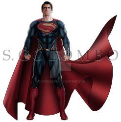 MAN OF STEEL 1 by supersebas