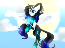 MLPSpeedPaint - Chrismast gift for CyanElwi by HuiRou