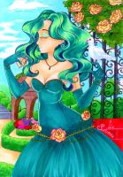 The Princess of Neptune by SaturninaTheWitch