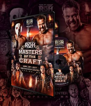 ROH Masters Of The Craft official DVD artwork by THE-MFSTER-DESIGNS