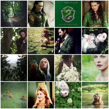 My aesthetic (Green) by ScorpionFlower1
