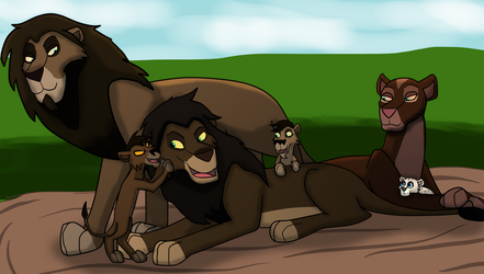 Nova's Family -Contest Entry- by weasel-girl