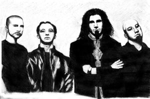 System Of A Down by ziridel