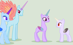 mlp base 1: hey looks its the nerdy princesses by Milky-Flare