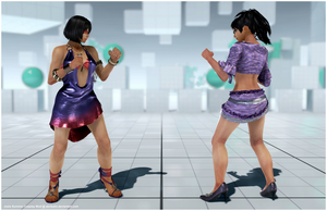 Josie Summer Cosplay [Tekken 7 PC mod] by Abrikatin