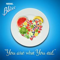 Nestle BLISS: You are what you eat by anjanimiranti