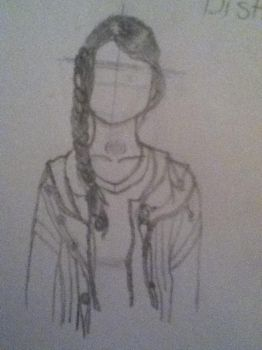 Katniss WIP 4 - Unfinished... by Soursweetx