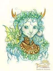 MarchOfTheFauns #6 Seaside Faun by HeatherHitchman
