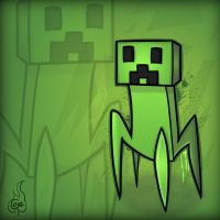Minecraft Mob Spotlight: Creeper by TruCorefire