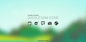 Google Now Icons by xNiikk