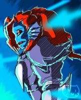 Undyne the Undying by Meow101XD