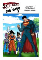 Son Goku and Superman 2 - CHAPTER 1 by Einstein001