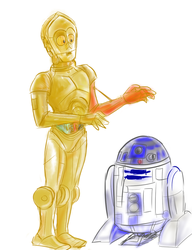 Droids by SnappySnape