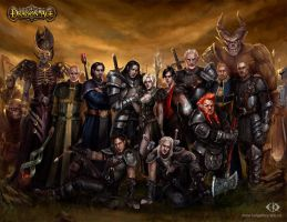 My Dragon Age. Commemorative picture by IcedWingsArt