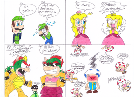 What if M4E Crew meets SMG4 Crew? by Jack-Hedgehog